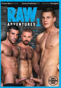 Raw Adventures 1 DVD - Front
