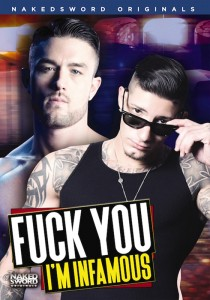 Fuck You I'm Infamous DVD - Front