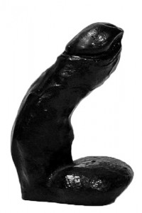 All Black AB 01 Dildo - Front