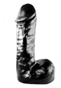 All Black - AB65 - Dildo - Front