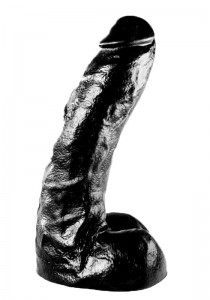 All Black - AB67 - Dildo - Front