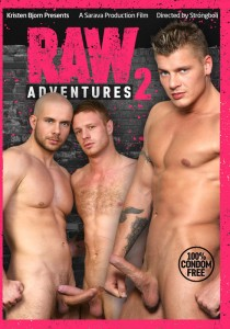 Raw Adventures 2 DVD - Front