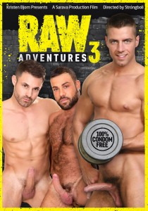 Raw Adventures 3 DVD - Front