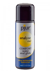 Pjur analyse me! COMFORT anal glide Bottle 30 ml - Front