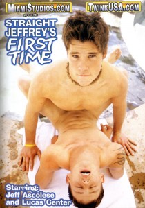 Straight Jeffrey's First Time DVD - Front