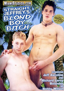 Straight Jeffrey's Blond Boy Bitch DVD (NC)