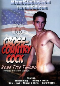 Cross-Country Cocks DVD - Front