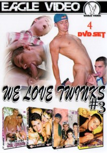 We Love Twinks #3 DVD - Front