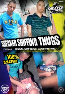 Sneaker Sniffing Thugs DVD - Front