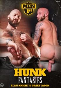 Hunk Fantasies DVD - Front
