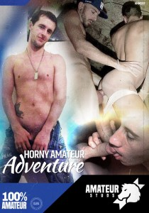 Horny Amateur Adventure DVD - Front