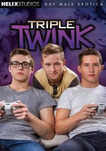 Triple Twink DVD - Front
