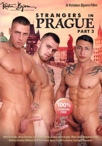 Strangers in Prague Part 3 DVD - Front