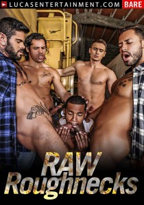 Raw Roughnecks DVD - Front