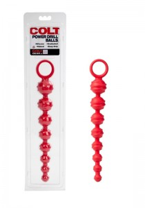 Colt Power Drill Balls- Red - Front
