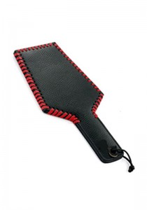 Leather Paddle - Wide Heavy Grain