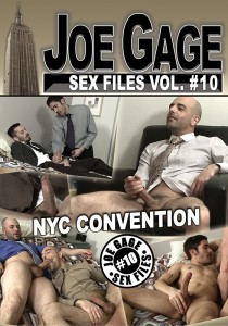 Joe Gage Sex Files vol. #10: NYC Convention DVD (S)