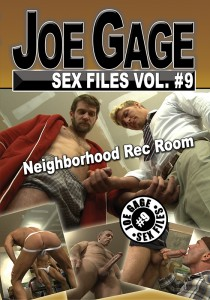 Joe Gage Sex Files vol. #9 Neighborhood Rec Room DVD (S)