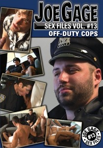 Joe Gage Sex Files vol. #13: Off-Duty Cops DVD (S)