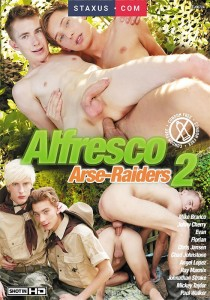 Alfresco Arse-Raiders 2 DVD