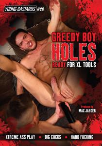 Greedy Boy Holes DVDR