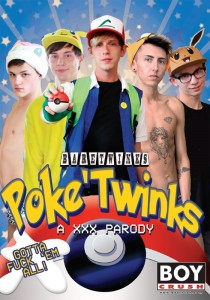 Poke Twinks DVDR