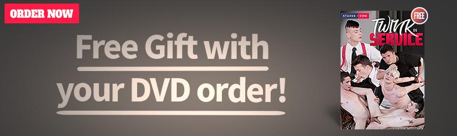 Free DVD: Twink in Service!